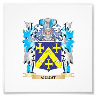 Escudo de armas de la huésped - escudo de la impresión fotográfica