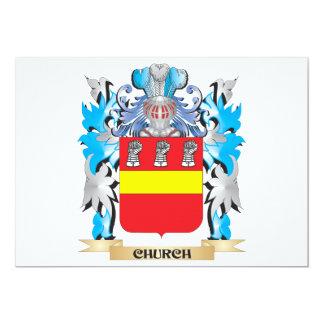Escudo de armas de la iglesia - escudo de la anuncio