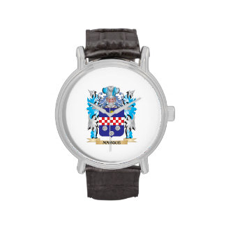 Escudo de armas de la marca - escudo de la familia relojes