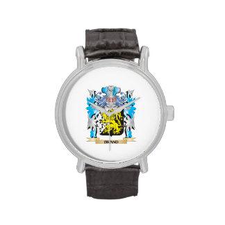 Escudo de armas de la marca relojes de pulsera