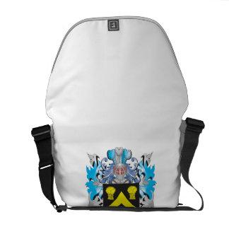 Escudo de armas de la mecha - escudo de la familia bolsas de mensajería