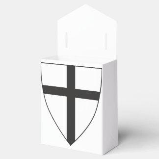 Escudo de armas de la orden teutónica cajas para regalos