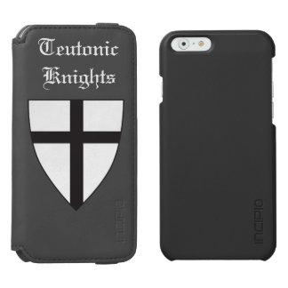 Escudo de armas de la orden teutónica funda billetera para iPhone 6 watson