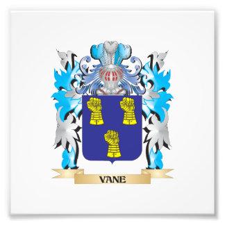 Escudo de armas de la paleta - escudo de la impresiones fotográficas