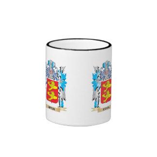 Escudo de armas de la portilla - escudo de la taza a dos colores