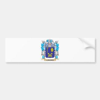 Escudo de armas de la quintilla - escudo de la etiqueta de parachoque