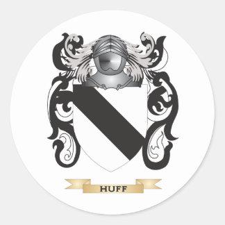 Escudo de armas de la rabieta (escudo de la pegatina redonda
