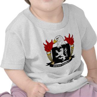 Escudo de armas de la raza/escudo de la familia camisetas