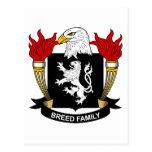 Escudo de armas de la raza/escudo de la familia postal