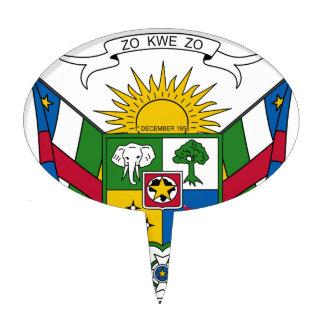 Escudo de armas de la República Centroafricana Decoraciones De Tartas
