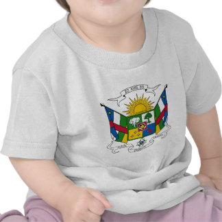 Escudo de armas de la República Centroafricana Camiseta