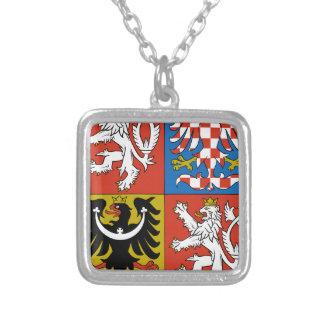 Escudo de armas de la República Checa Collares