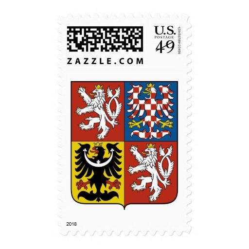 Escudo de armas de la República Checa Sellos