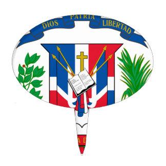 Escudo de armas de la República Dominicana Figuras De Tarta