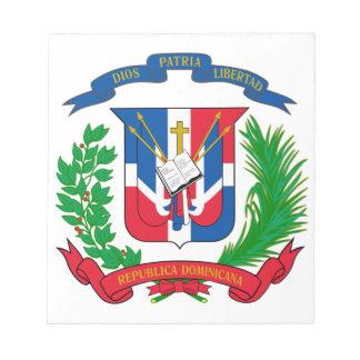 Escudo de armas de la República Dominicana Bloc