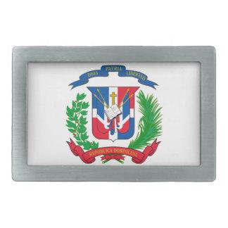 Escudo de armas de la República Dominicana Hebilla Cinturón Rectangular