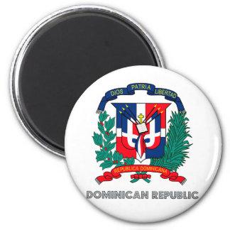 Escudo de armas de la República Dominicana Imán Para Frigorifico