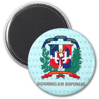 Escudo de armas de la República Dominicana Iman Para Frigorífico