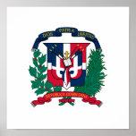 Escudo de armas de la República Dominicana Posters
