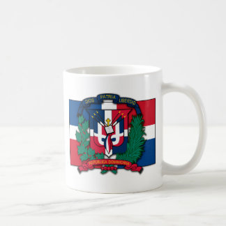 Escudo de armas de la República Dominicana Taza
