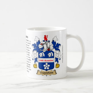 Escudo de armas de la reunión de Traynham 50 o Tazas De Café