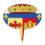 Escudo de armas de La Rioja (España) Palillos De Tarta