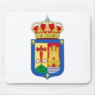 Escudo de armas de La Rioja (España) Tapete De Ratones