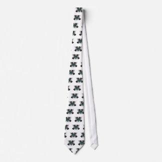 Escudo de armas de la roca corbata personalizada