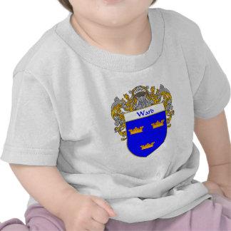 Escudo de armas de la sala cubierto camiseta