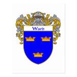 Escudo de armas de la sala (cubierto) postales
