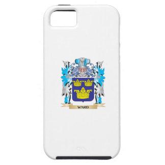 Escudo de armas de la sala - escudo de la familia funda para iPhone 5 tough