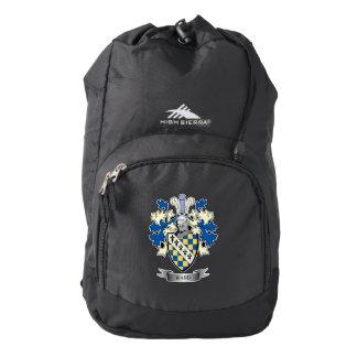 Escudo de armas de la sala mochila