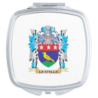 Escudo de armas de La-Stella - escudo de la Espejos Para El Bolso