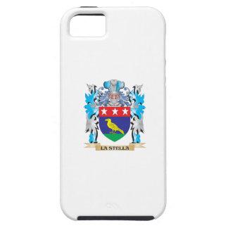 Escudo de armas de La-Stella - escudo de la iPhone 5 Case-Mate Fundas