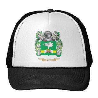 Escudo de armas de la tarifa gorras de camionero