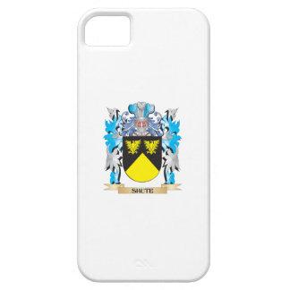 Escudo de armas de la trama de seda - escudo de la iPhone 5 Case-Mate coberturas
