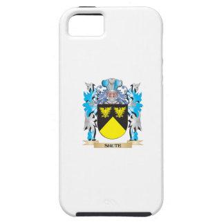 Escudo de armas de la trama de seda - escudo de la iPhone 5 cobertura
