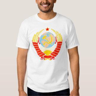 Escudo de armas de la Unión Soviética Remeras