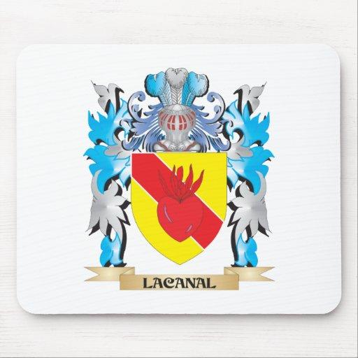 Escudo de armas de Lacanal - escudo de la familia Tapete De Ratones