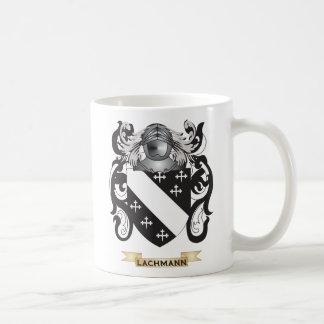 Escudo de armas de Lachmann (escudo de la familia) Tazas De Café