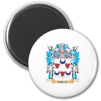 Escudo de armas de Lally - escudo de la familia Imán De Frigorífico