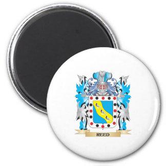 Escudo de armas de lámina - escudo de la familia imán redondo 5 cm