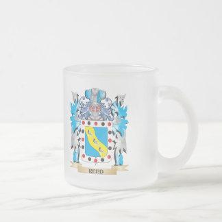 Escudo de armas de lámina - escudo de la familia taza de cristal