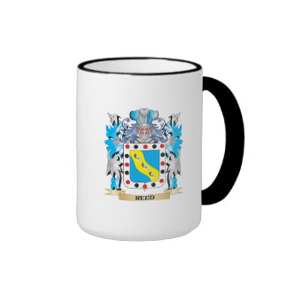 Escudo de armas de lámina - escudo de la familia taza de dos colores