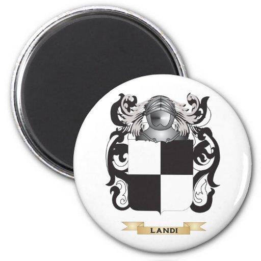 Escudo de armas de Landi (escudo de la familia) Iman De Frigorífico