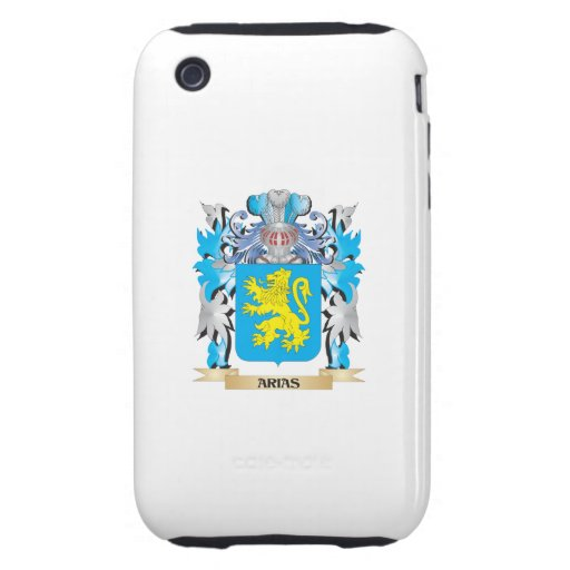 Escudo de armas de las arias tough iPhone 3 funda