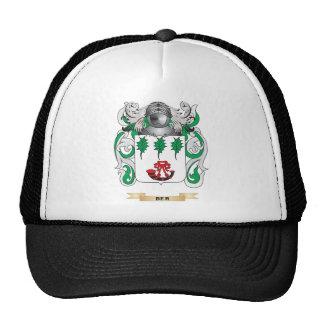 Escudo de armas de las azufaifas (escudo de la fam gorro de camionero