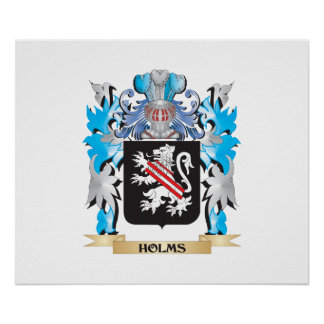 Escudo de armas de las encinas - escudo de la impresiones