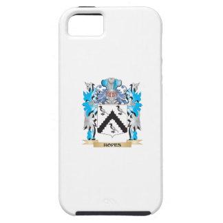 Escudo de armas de las esperanzas - escudo de la iPhone 5 Case-Mate carcasas