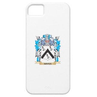 Escudo de armas de las esperanzas - escudo de la iPhone 5 fundas